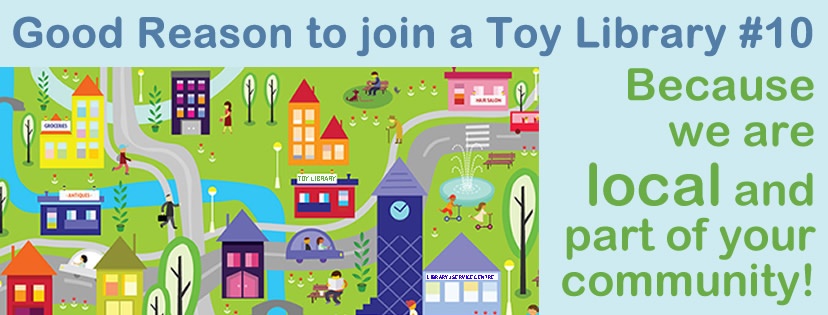 Good Reason to join to toy library