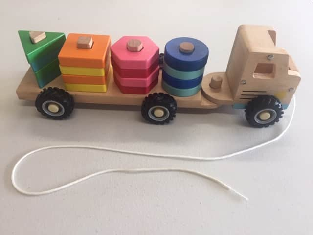 Shape Sorting Truck