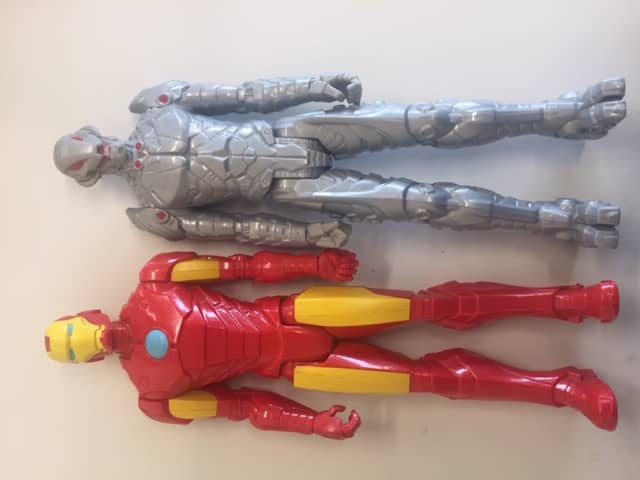 Avengers Iron Man & Ultron Action Figures