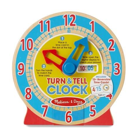 Turn & Tell Clock photo