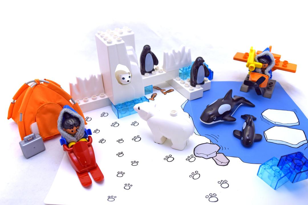 Frozen Wilderness Playset
